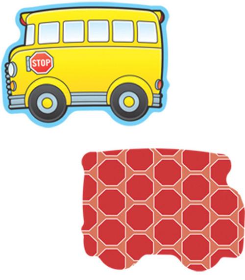 School Buses Mini Cut-Outs