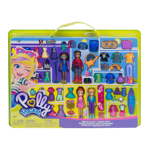 Polly Pocket and Friends Super Pack