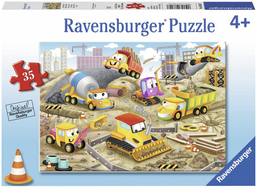 Ravensburger Raise The Roof! Jigsaw Puzzle 35 Pieces