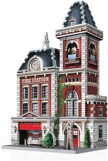 3D Fire Station Puzzle