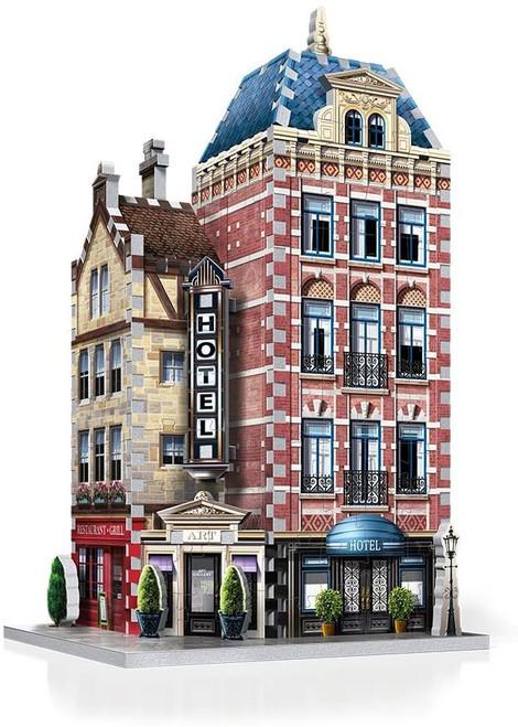 3D Hotel Puzzle