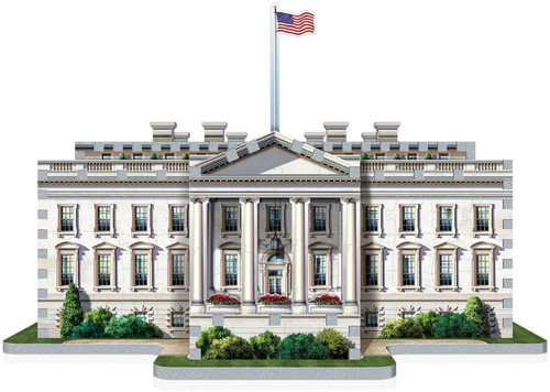 3D The White House