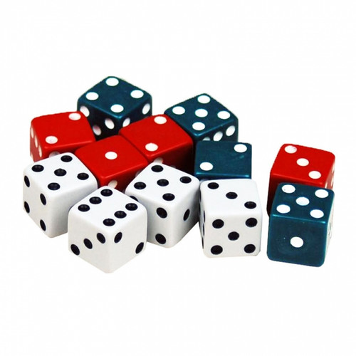Dice set of 12