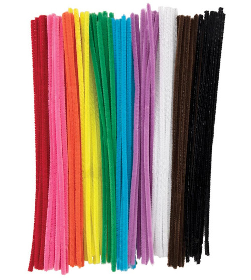 Jumbo Pipe Cleaners Assorted Colors