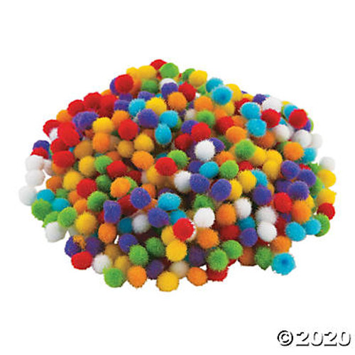 Itty Bitty Pom-Poms  Set of 500