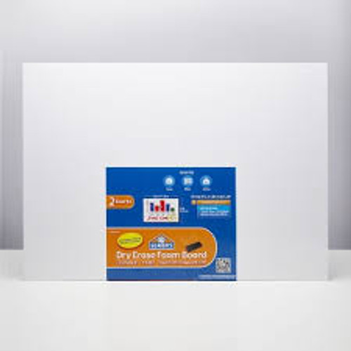 "Elmers Foam Dry Erase Board 20""x28"" 2 Pack"