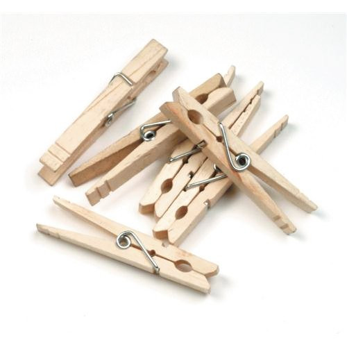 """Creativity Street Spring Clothespins 1¾""""L Pack of 24"""