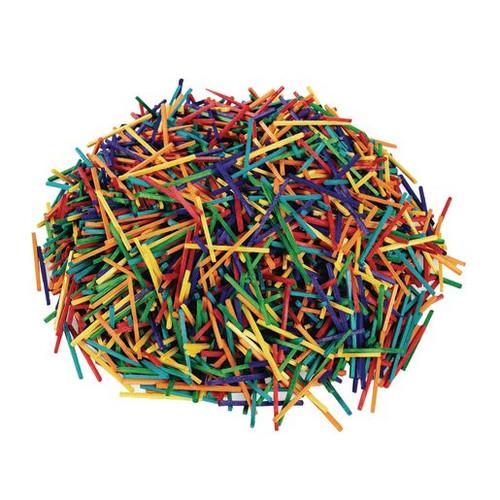 Colored Wood Craft Matchsticks 1000 Pieces