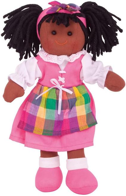 Soft Body Plush Jess Doll with Hair