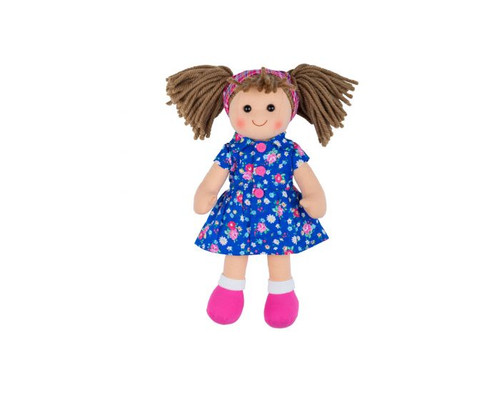 Soft Body Plush Hollie Doll with Hair
