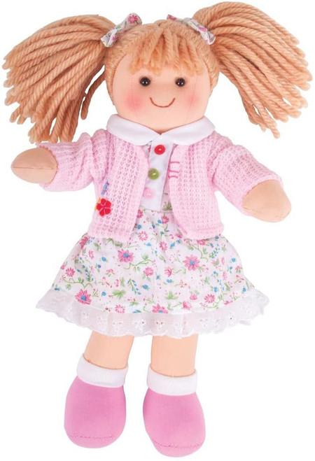 Soft Body Plush Poppy Doll with Hair