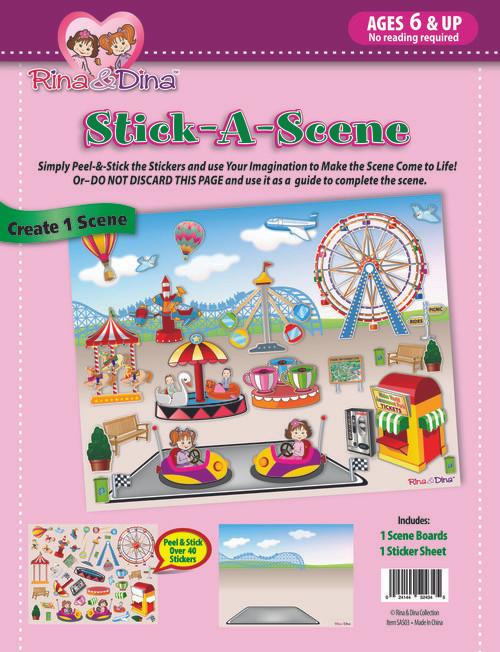 Rina Dina Stick A Scene Amusement Park