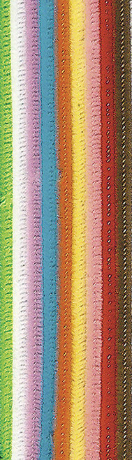 Chenille Stems/Pipe Cleaners Assorted Colors