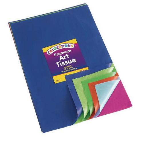 Premium Art Tissue Paper Bleeding 50 Sheets