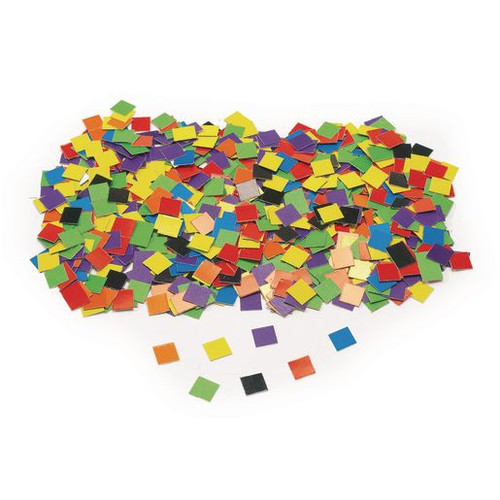 Cardstock Double Color Mosaic Squares