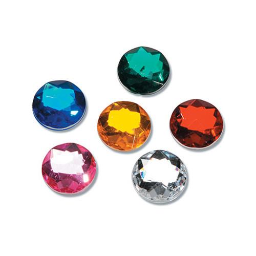 Acrylic Round Rhinestones Assorted Colors