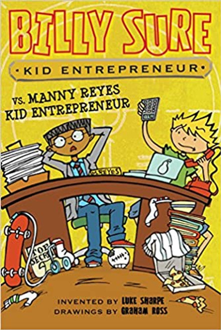 Billy Sure Kid Entrepreneur vs. Manny Reyes Kid Entrepreneur Paperback