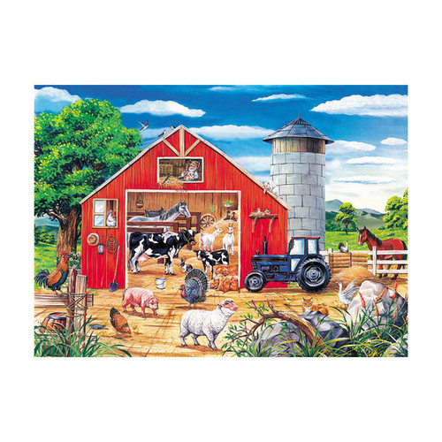 Animals In Barn Floor Puzzle