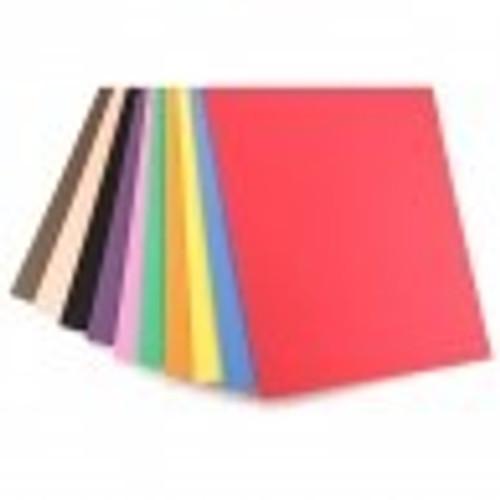 "Foam Sheets 12""x18"" Single Color"