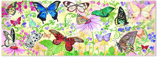 Butterfly Bliss Jumbo Jigsaw Floor Puzzle