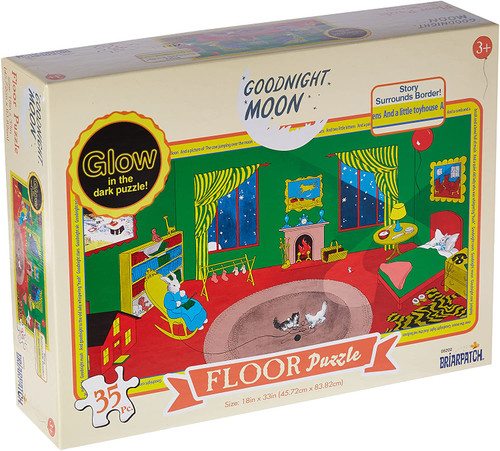 Goodnight Moon Glow in the Dark Floor Puzzle