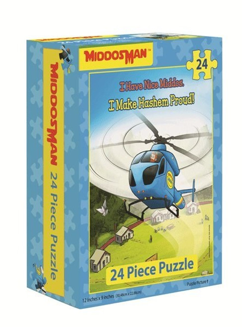 Middos Man Middos Puzzle Copter 24 Pieces
