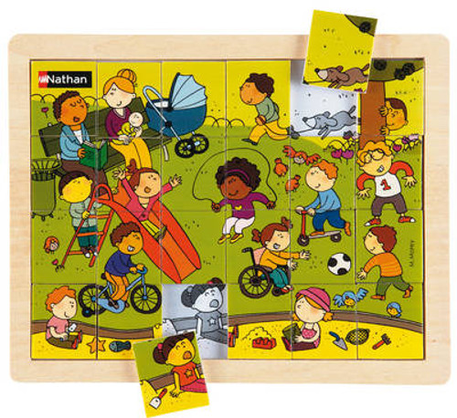 Outdoor Fun Small Wooden Puzzle
