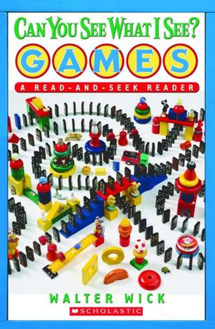 Can You See What I See Games Read and Seek Paperback