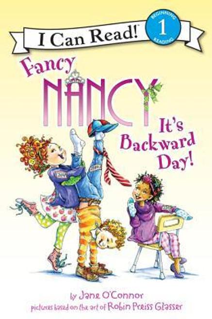 Fancy Nancy It's Backwards Day Paperback