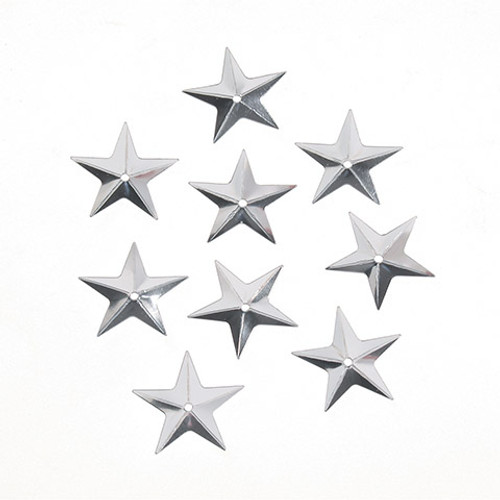 Sequin Silver Star