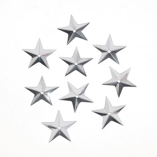 Sequin Silver Star