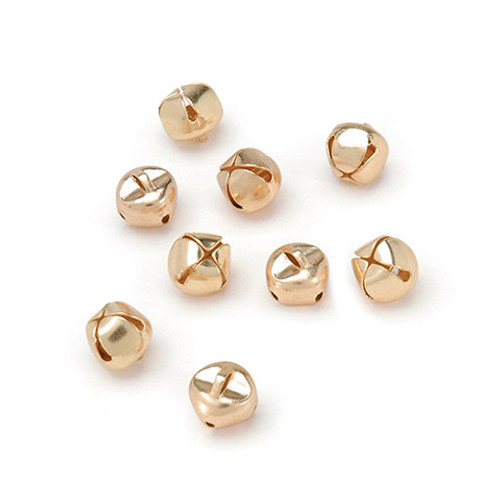 Bells Gold 3/8 inch - 72 pieces