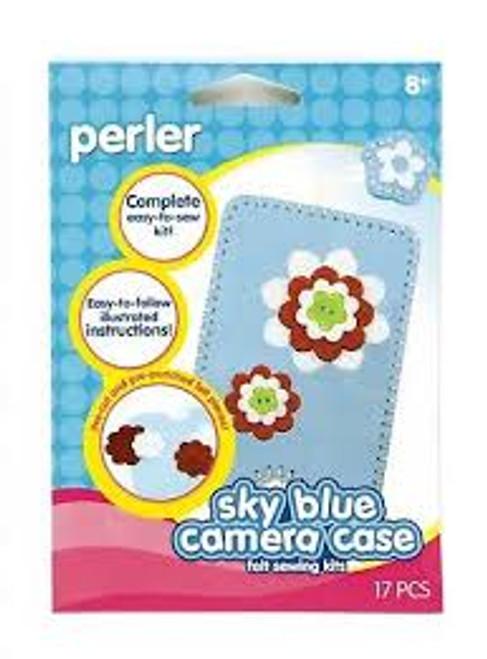 Felt Sewing Kit Camera Case