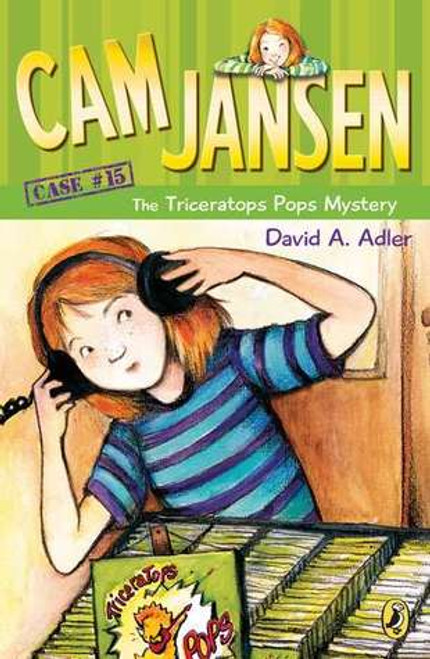 Cam Jansen and the Triceratops Pops Mystery Paperback