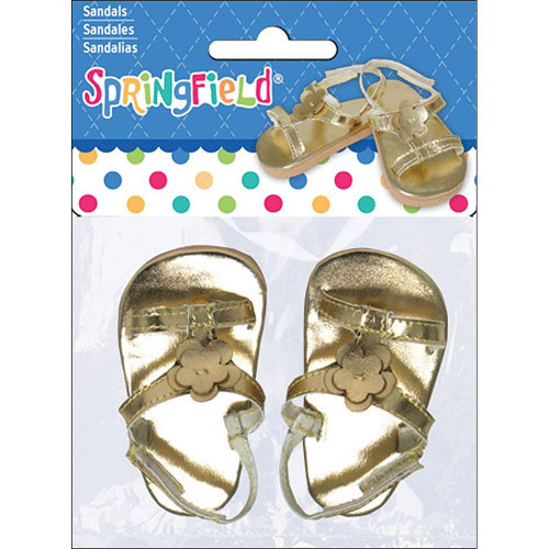 Gold Doll Sandals