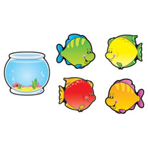 Cut-Out Buddies Fish & Bowls