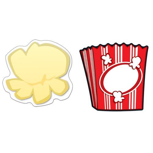 Popcorn & Boxes Cutouts