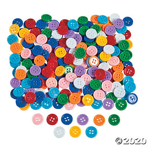 Self-Adhesive Plastic Buttons