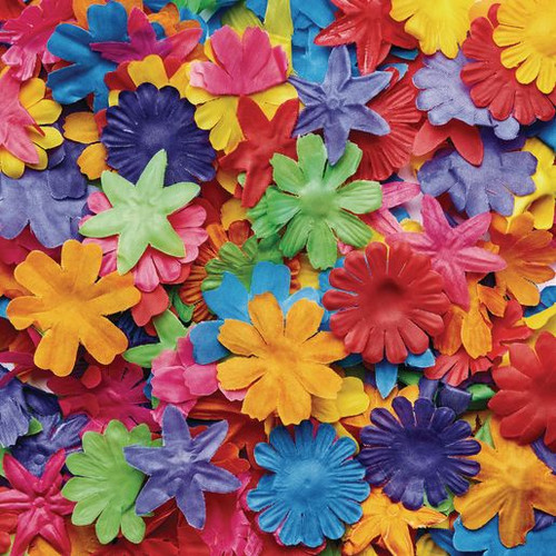 Colorful Fabric Flowers 300 Pieces
