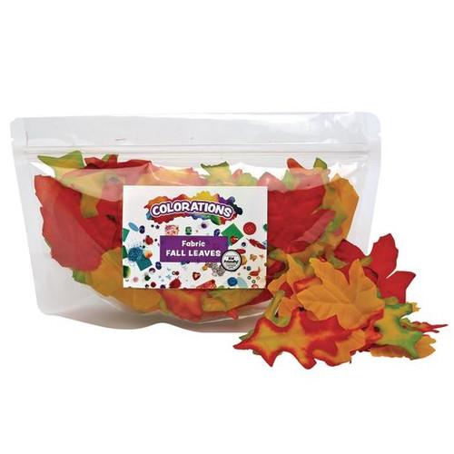 Fabric Fall Leaves - 200 Pieces