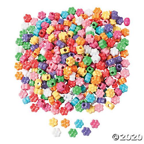 Fabulous Flower Pony Beads