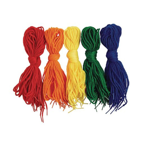 Tipped Lacing Yarn - 100 Pieces