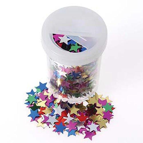 Star Confetti in Container