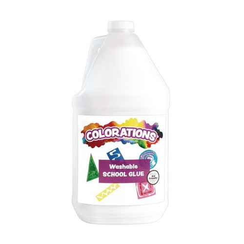 Washable White School Glue - 1 Gallon
