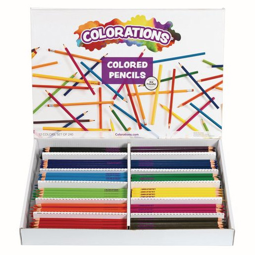 Regular Colored Pencils - Set of 240