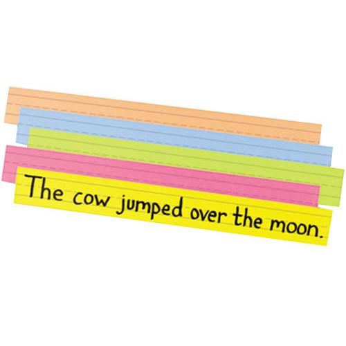 Sentence Strip Bright Tagboard Assortment Ruled