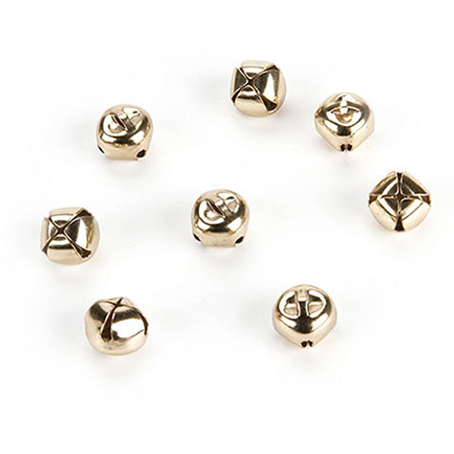 "Gold Bells .25"" - 144 Pieces"