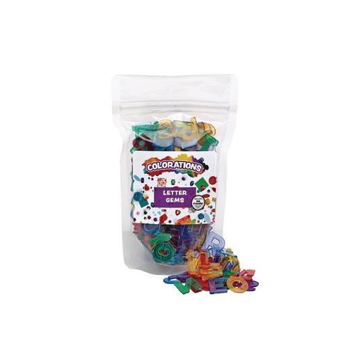 Letter Gems - 260 Pieces