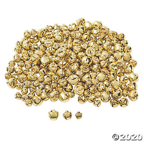"Bells Gold 1/4"" - 3/8"" - 200 Pc."