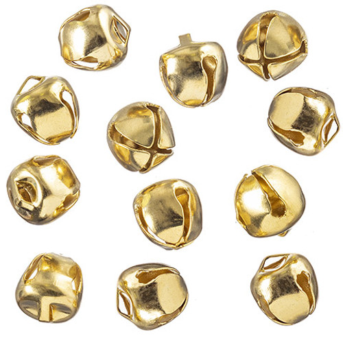"Bells Gold 1/2"" - 144 pieces"